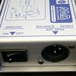 D I Box ground lift switch and balanced output